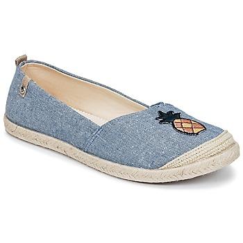 Schoenen Dames Espadrilles Roxy FLORA II J SHOE CHY Blauw