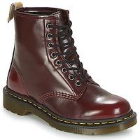 Schoenen Laarzen Dr Martens VEGAN 1460 Rood
