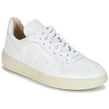 Schoenen Lage sneakers Veja V-10 Wit