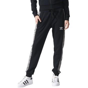 Textiel Dames Trainingsbroeken adidas Originals Shell Cuff TP Noir