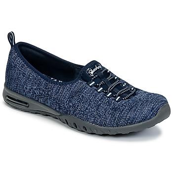 Schoenen Dames Lage sneakers Skechers EASY-AIR IN-MY-DREAMS Blauw / Marine