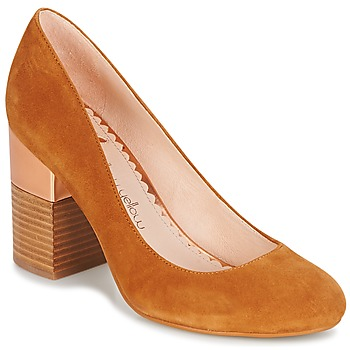Schoenen Dames pumps Mellow Yellow DABOL  camel