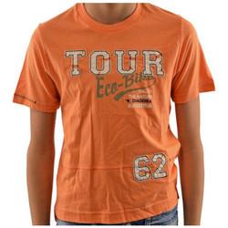 Textiel Kinderen T-shirts korte mouwen Diadora  Orange