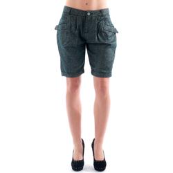 Textiel Dames Korte broeken / Bermuda's Amy Gee AMY04303 Gris