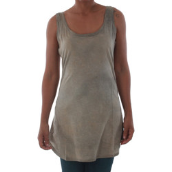 Textiel Dames Mouwloze tops Fornarina BILSTON_GOLD Marrón