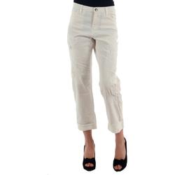 Textiel Dames Chino's Miss Sixty MIS01030 Blanco roto