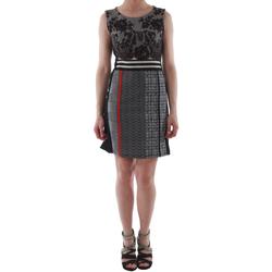 Textiel Dames Korte jurken Rinascimento 82008_NERO Negro
