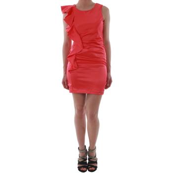 Textiel Dames Korte jurken Rinascimento 2045/16_CORALLO_ROSSO Coral