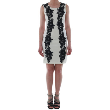 Textiel Dames Korte jurken Rinascimento 1260/16M_PANNA_BIANCO Blanco roto