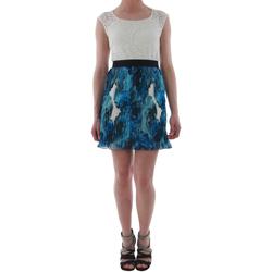 Textiel Dames Korte jurken Rinascimento 1276/16M_BLU Blanco