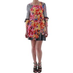 Textiel Dames Korte jurken Rinascimento 1330/13A_BIANCO Estampado