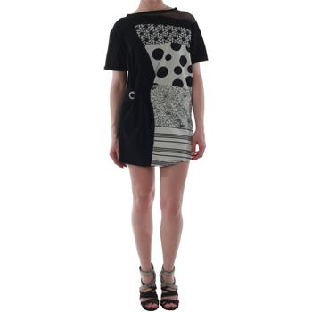 Textiel Dames Korte jurken Rinascimento 82024_NERO Negro