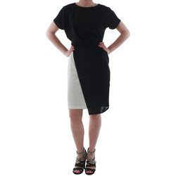 Textiel Dames Korte jurken Rinascimento MIRANDA_BIANCO Negro