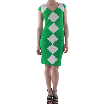 Textiel Dames Korte jurken Rinascimento 241012/VERDE Verde