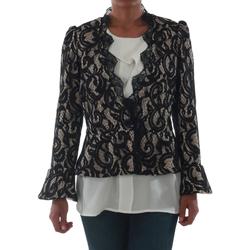 Textiel Dames Jasjes / Blazers Rinascimento 7643_BEIGE Negro