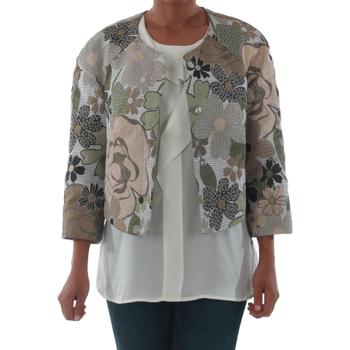 Textiel Dames Jasjes / Blazers Rinascimento 82012_VERDE Verde