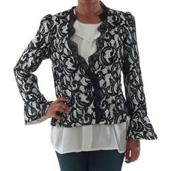 Textiel Dames Jasjes / Blazers Rinascimento 7643_BIANCO Blanco