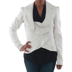 Textiel Dames Jasjes / Blazers Rinascimento 7690_BIANCO Blanco