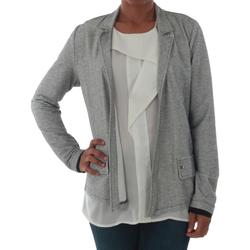 Textiel Dames Jasjes / Blazers Rinascimento PE450_NERO Plateado