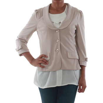 Textiel Dames Jasjes / Blazers Rinascimento 1022_BEIGE Beige