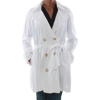 Textiel Dames Trenchcoats Rinascimento 7540_BLANCO Blanco