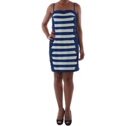 Textiel Dames Korte jurken Rinascimento 322B.012_BLU Azul