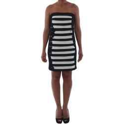 Textiel Dames Korte jurken Rinascimento 322B.012_BIANCO Negro