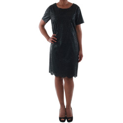 Textiel Dames Korte jurken Rinascimento 14007_NERO Negro