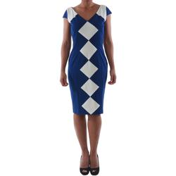Textiel Dames Korte jurken Rinascimento 241.012_BLU Azul