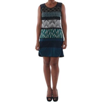 Textiel Dames Korte jurken Rinascimento 82029_BLU Azul marino