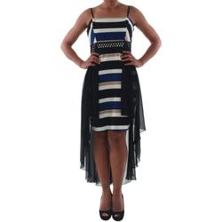 Textiel Dames Korte jurken Rinascimento PAINT/R_BLU Negro