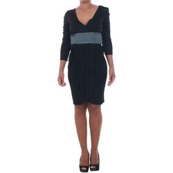 Textiel Dames Korte jurken Silvian Heach SIL13565 Negro