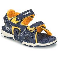 Schoenen Kinderen Sandalen / Open schoenen Timberland ADVENTURE SEEKER 2-STRAP SANDAL Blauw
