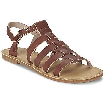 Schoenen Dames Sandalen / Open schoenen Timberland EARTHKEEPERS® SHEAFE FISHERMAN Brown / Clair