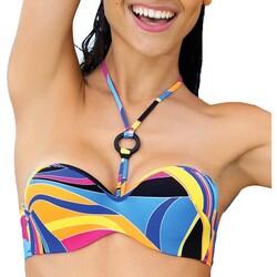 Textiel Dames Bikinibroekjes- en tops Antigel La sporty tropique Multicolour