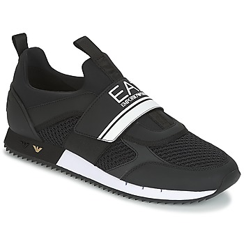Schoenen Heren Lage sneakers Emporio Armani EA7 BLACK & WHITE U Zwart