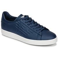 Schoenen Heren Lage sneakers Emporio Armani EA7 CLASSIC U Blauw