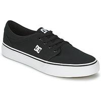 Schoenen Heren Lage sneakers DC Shoes TRASE TX MEN Zwart / Wit