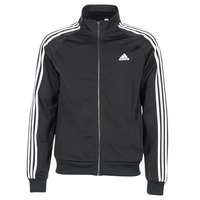 Textiel Heren Trainings jassen adidas Performance ESS 3S TTOP TRI Zwart