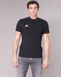 Textiel Heren Polo's korte mouwen adidas Performance CON18 CO POLO Zwart