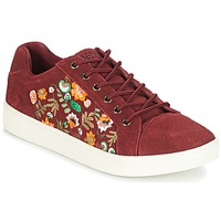 Schoenen Dames Lage sneakers Banana Moon RACLO Bordeaux