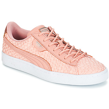 Schoenen Dames Lage sneakers Puma BASKET SATIN EP WN'S Roze
