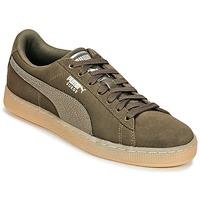 Schoenen Dames Lage sneakers Puma SUEDE CLASSIC BUBBLE W'S Zwart / Grijs