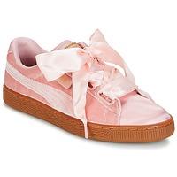 Schoenen Dames Lage sneakers Puma BASKET HEART VS W'N Roze