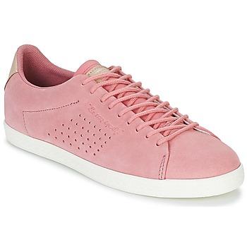 Schoenen Dames Lage sneakers Le Coq Sportif CHARLINE SUEDE Roze