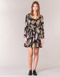 Textiel Dames Korte jurken Betty London HYPO Zwart / Multikleuren