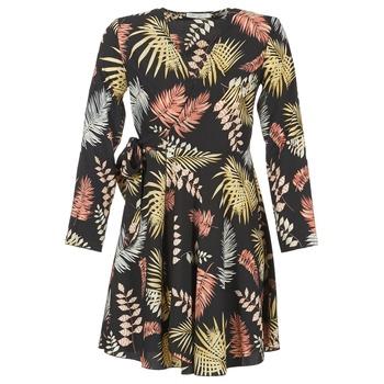Textiel Dames Korte jurken Betty London HYPO Zwart / Multicolour