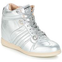 Schoenen Dames Hoge sneakers Serafini MANHATTAN Zilver