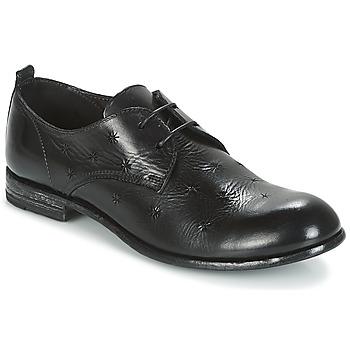 Schoenen Dames Derby Moma CROSS-NERO Zwart