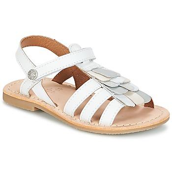 Schoenen Meisjes Sandalen / Open schoenen Aster CORELLE Wit